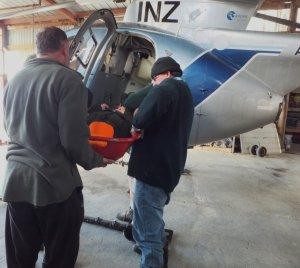 Amalgamated Helicopters Hughes 500