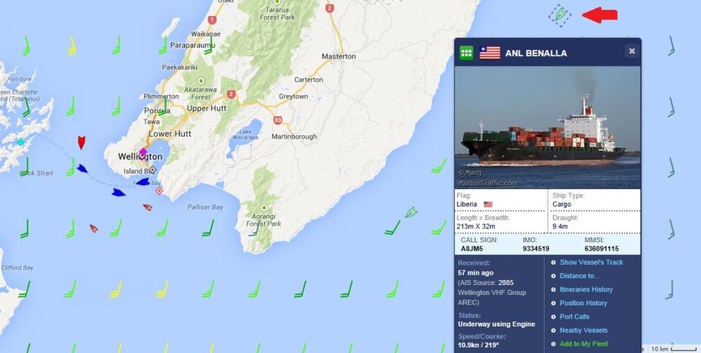 New Wellington AIS Receiver Operational