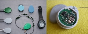 WandaTrak pendant and watch